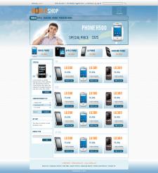 Шаблон интернет магазина на Magento,  на продажу.