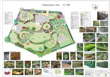 Генеральный план участка в п. Ямок