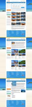 Шаблоны для сайта туристической компании