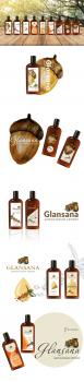 Варианты дизайна этикетки для шампуни