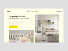 Ikea редизайн магазин | Концепт сайта