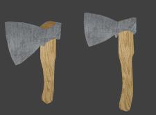 Игровая модель топора