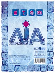дизайн термо-пакета (упаковка) для льда