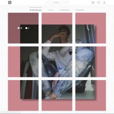 Креативное оформление аккаунта Instagram.