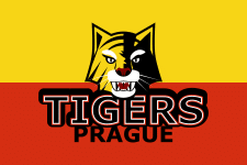 Логотип для команды Prague Tigers (Цвета флага)