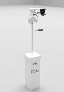 Подставка для 3D очков