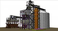 Строительство комплекса по приемке, храненю зерна