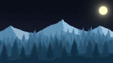 Пейзаж гор