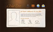 Сайт визитка на html