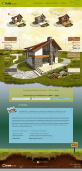 Сайт по строительству коттеджей