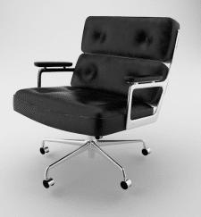 3d модель комп'ютерного крісла