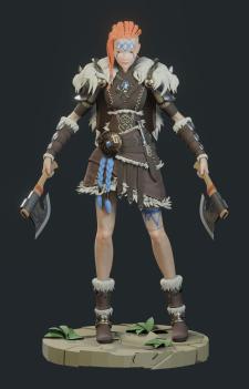 Wiking girl