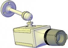 3D-видеокамера (смоделирована в AutoCad)