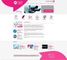 Сайт компании по продаже оборудования  для телевидения, видеонаб