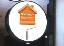 Логотип для строительной компании Semistroy