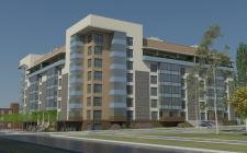 Жилой многоэтажный дом (вариант1)