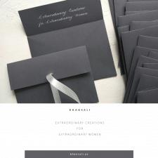 Создание именных конвертов для бутика
