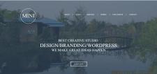Верстка  макета сайта для веб-студии.