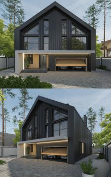 Дом в стиле Барнхаус1