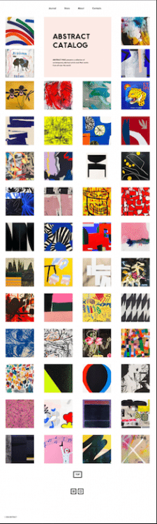 ABSTRACT CATALOG