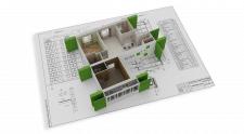 3d моделирование планировок квартир