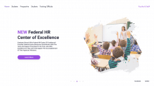 The Federal HR Center Landing Page