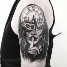 Тату тишина tattoo silence