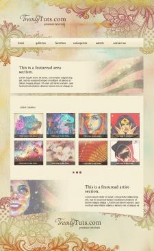 Дизайн сайту-портфоліо для художника-іллюстратора