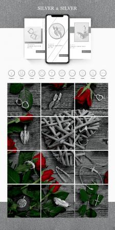 Оформление Инстаграм - Silver&Silver