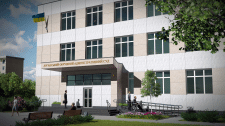 Реконструкция здания под админ. суд