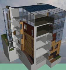 3d модель здания в виде запускного файла