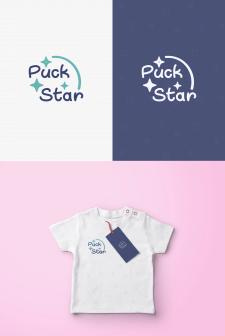 дизайн логотипа Puck Star