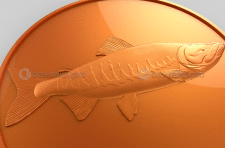 3D модель барельеф