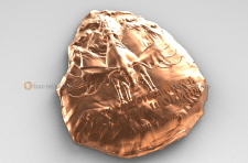 """Изготовление 3D модели сувенира """"Золотая Шория"""""""