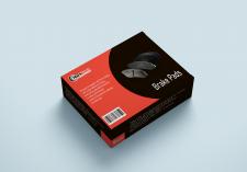 Дизайн упаковки для тормозных колодок