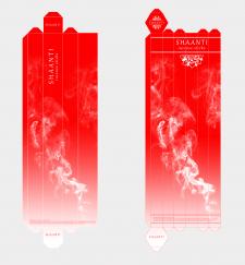 Дизайн упаковки ароматических палочек