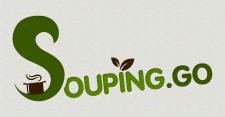 Логотип для кафе SOUPING.GO