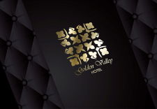 Luxury Logo - Golden valley Hotel