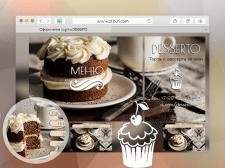 Оформление группы Интернет магазина десертов