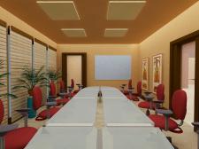 Конференц-зал офиса в Африканском стиле