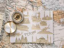 Иллюстрации для туристической фирмы
