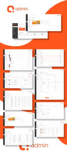 Набор компонентов QAdmin для разработки сайтов