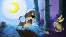 Иллюстрация детской сказки