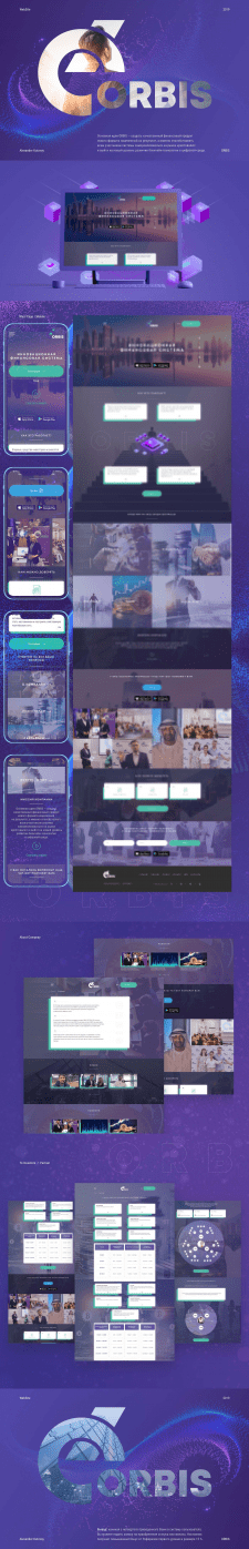 Сайт-визитка Orbis