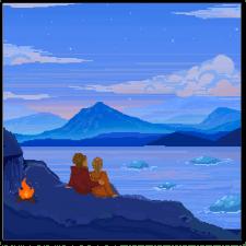 Пиксель арт иллюстрация