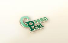 """логотип для """"Greenpost"""""""