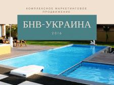 Комплексное маркетинговое продвижение БНВ-Украина