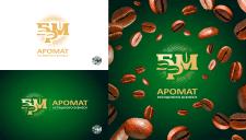 Логотип для компании БРМ - Кофе бизнес