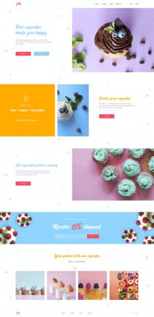 Интернет-магазин капкейков Joy (главная)