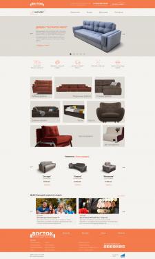Дисайн сайта мебели